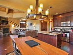 You'll love the open layout of this Frisco condo.