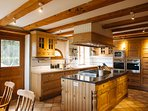 Fabulous kitchen, fully equipped, large eating area, access to terrace