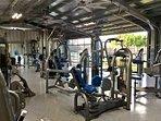 Workout area at PBAC