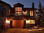 Front exterior of Park City Serenity - Park City including a large deck with amazing views.