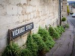 Vicarage Street is in the heart of Painswick