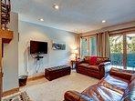 Ski Hill Condo Living Area Breckenridge Lodging Vacation Rentals