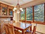 Highland Greens Dining Area Breckenridge Lodging Vacation Rental