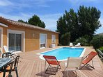 4 bedroom Villa in Montpellier, Herault Aude, France : ref 2214686