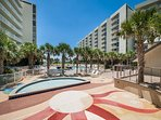 Mainsail Pool Area