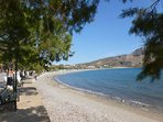 Plakias beach which is approximately 30n metres from the apartment.