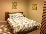 Semi-private 7th bdr has q-n bed & separated by 6-panel screen divide, no window