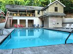 You can walk to the pool. Open Memorial Weekend - Labor Day Weekend!
