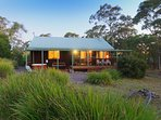 Dreamtime Spa Lodge the name says it all, a cosy lodge nestled in the mountain top