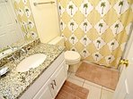 1F Shared Bathroom (w/ tub/shower combo)