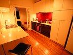 Kitchen- fully stocked, Stone benchtops, Gas stove, dishwasher, new fridge, filter etc