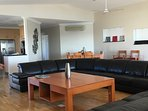 Townsville best holiday apartment's huge living area