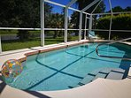 Take a refreshing dip in Glorious Gulf Villa's private pool