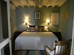 3rd air conditioned bedroom  off the main house, can either be king or twin