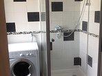 Newly refurbished shower room.