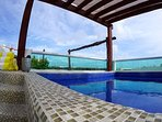 MAGIC PARADISE MAMITAS BEACH AREA,  Ocean View from rooftop & Private Pool