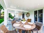 Outdoor Summer Living Area