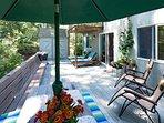 Expansive Deck & Patio Dining Area