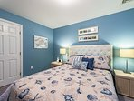 Lower Level Guest Bedroom with Queen