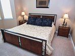 King Master Bedroom with en suite