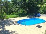 Heerlijk beschut zwembad