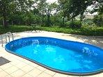Terras 2 met zwembad