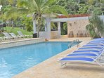 Located between Isabela and Aguadilla towns and beaches to enjoy the best of both