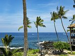 The Kona Makai complex sits right at the water's edge.
