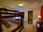 Full/Full Bunk Bed, Room#8