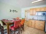 Convient Dining and Kitchenette