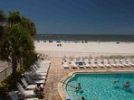 Heated Pool at Sandy Shores Right on the Beach