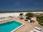Pool on Madeira Beach off of the Gulf of Mexico