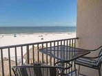 Sit and Relax with Views of the Beach and Gulf of Mexico