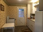Kitchen - oven, coffee maker