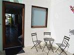 Petite table exterieur avec 3 chaises