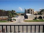 View Of Beach Access From Beachview 304 Private Balcony