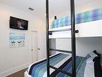 Alternate Shot of Bunk Bedroom Showing TV