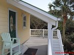 Back Sun Deck w/ Covered Porch off Bunkrooms