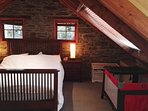 Master bedroom - we also have a portacot