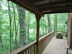 Enjoy Wooded Outdoors from the Deck
