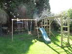 Climbing Frame and Baby swing