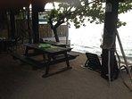 The Beach dining area...