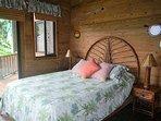 Bedroom #4 has doors to ocean view deck