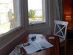 Window table - for coffee, breakfast, reading or games