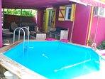 Location avec piscine privatif