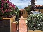 View from the street towards the Aruba Studios