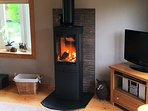 Stunning Log Burner available in Winter months, seasoned logs can be purchased locally.