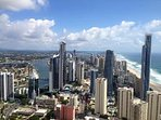 Picture taken from Q1. Beachcomber building is extreme right. Tallest building seen is Soul.