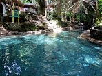 Ardent hot springs. Well worth a visit and just up the road.