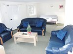 In addition to the 3 piece suite there is plenty of space for the double sofa bed.